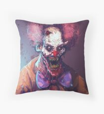 KLOWNTIME Throw Pillow