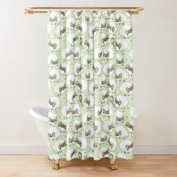 Sheep Sheep Sheepers Shower Curtain