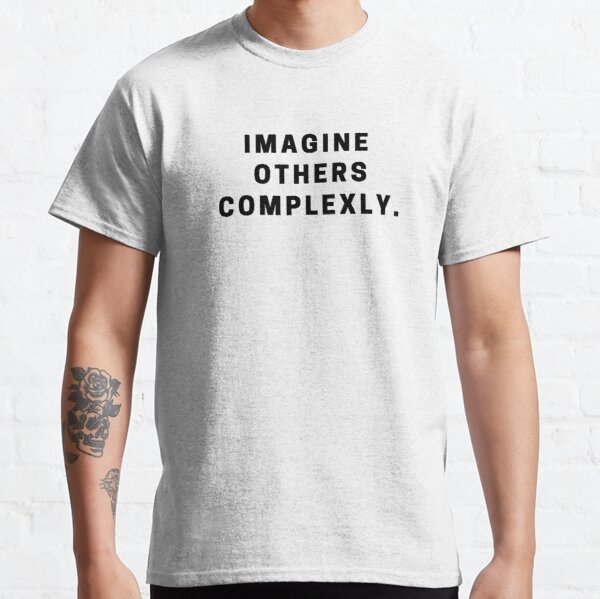 Imagine Others Complexly- John and Hank Green Classic T-Shirt