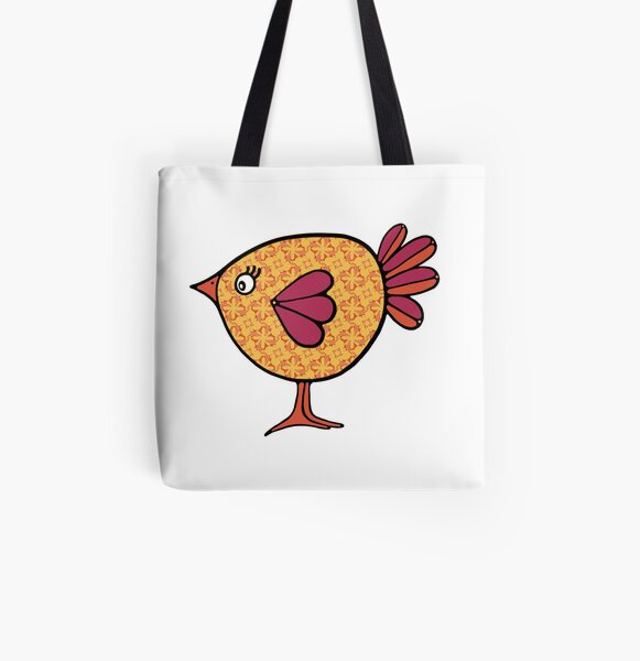 Birds of a Feather 14 All Over Print Tote Bag