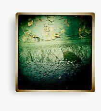 Cambridge Collection: Natural Mirror Canvas Print