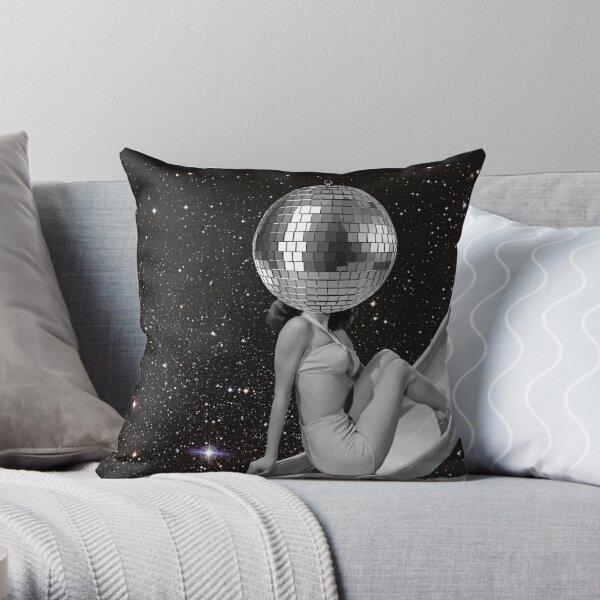 Boule à facette Throw Pillow