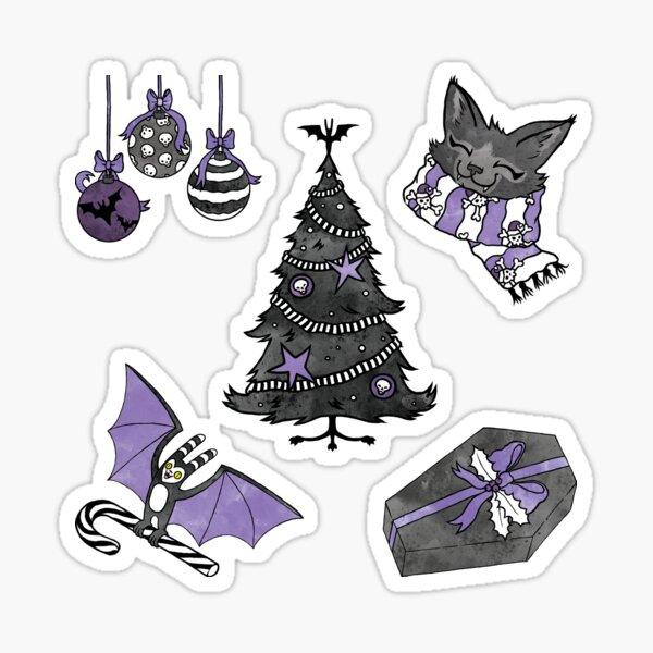 Spooky Christmas 2 Sticker