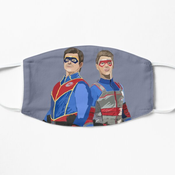 Captain Man and Kid Danger Mask