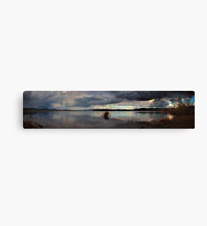 The Lakes' Shore Canvas Print