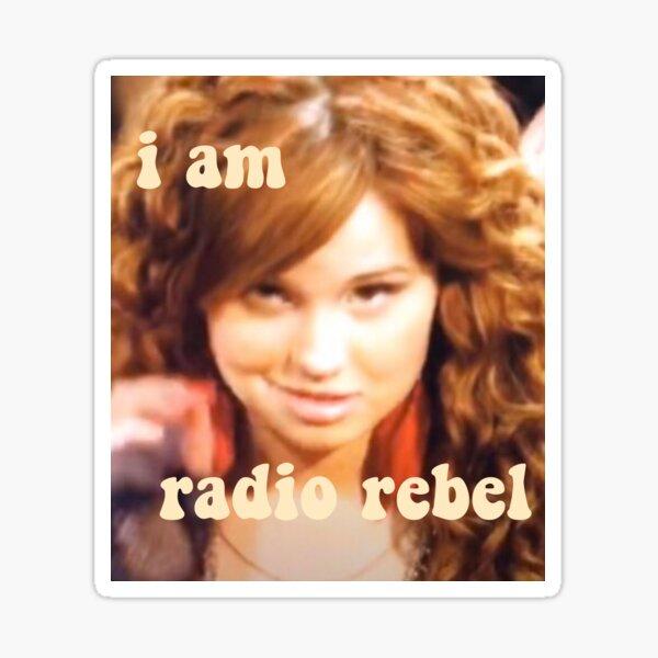 Radio rebelde Pegatina