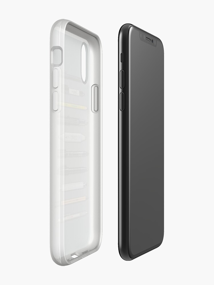 Alternate view of Pen Collection For Sketching And Drawing (Plain) iPhone Cases & Covers