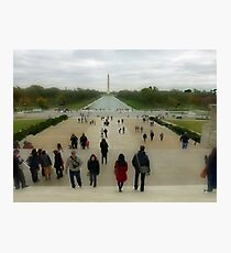 The Reflecting Pool - Washington Monument Fotodruck