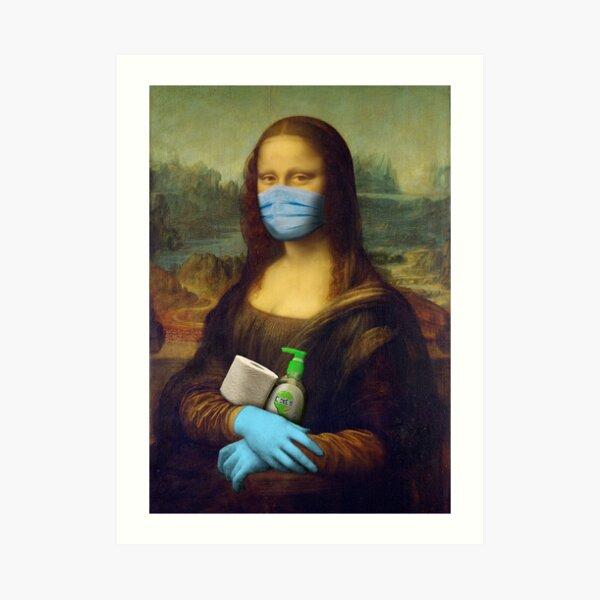 2020 Mona Lisa Art Print