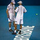 Blake and Roddick by Sue  Thomson