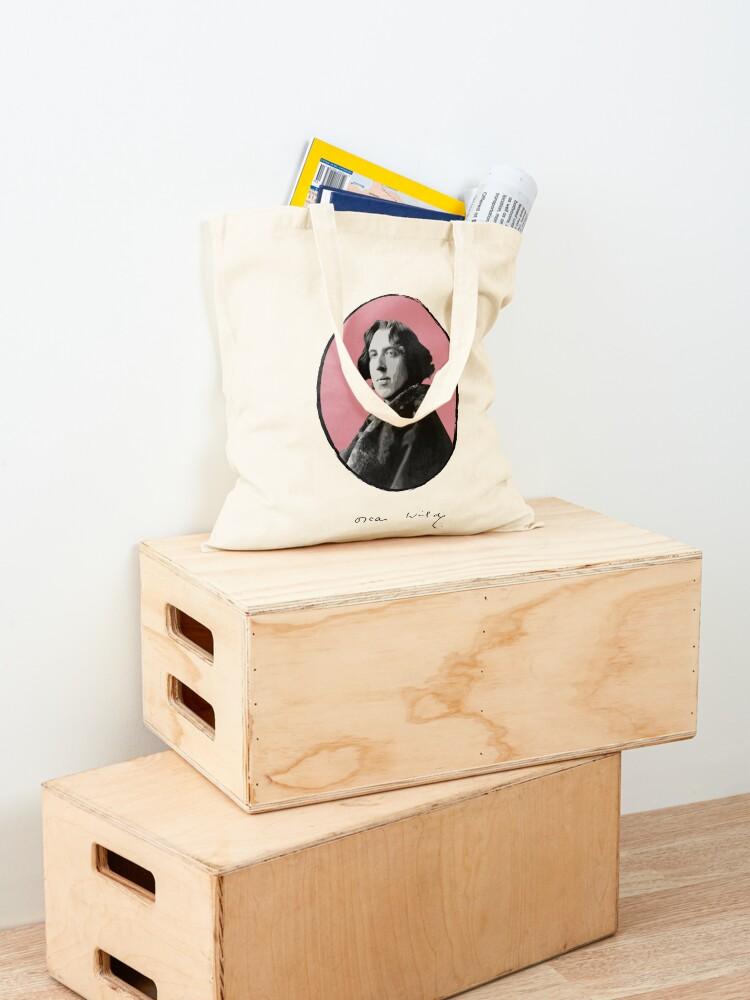 Alternate view of Oscar Wilde Tote Bag