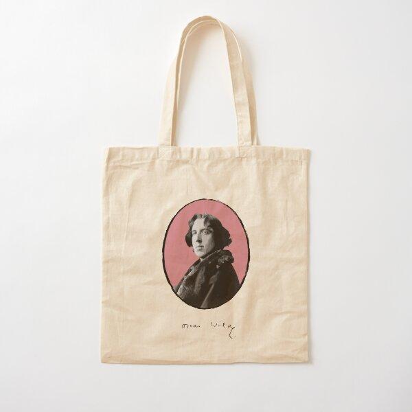 Oscar Wilde Cotton Tote Bag