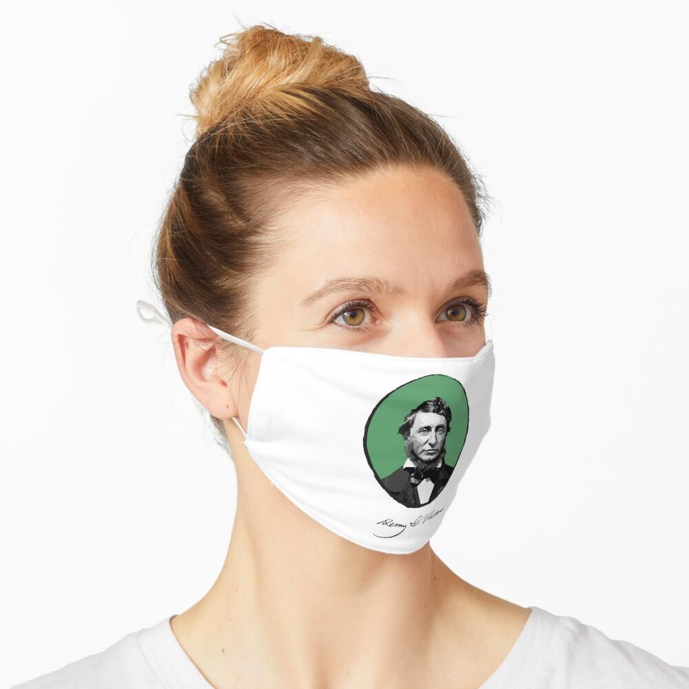 Henry David Thoreau Mask