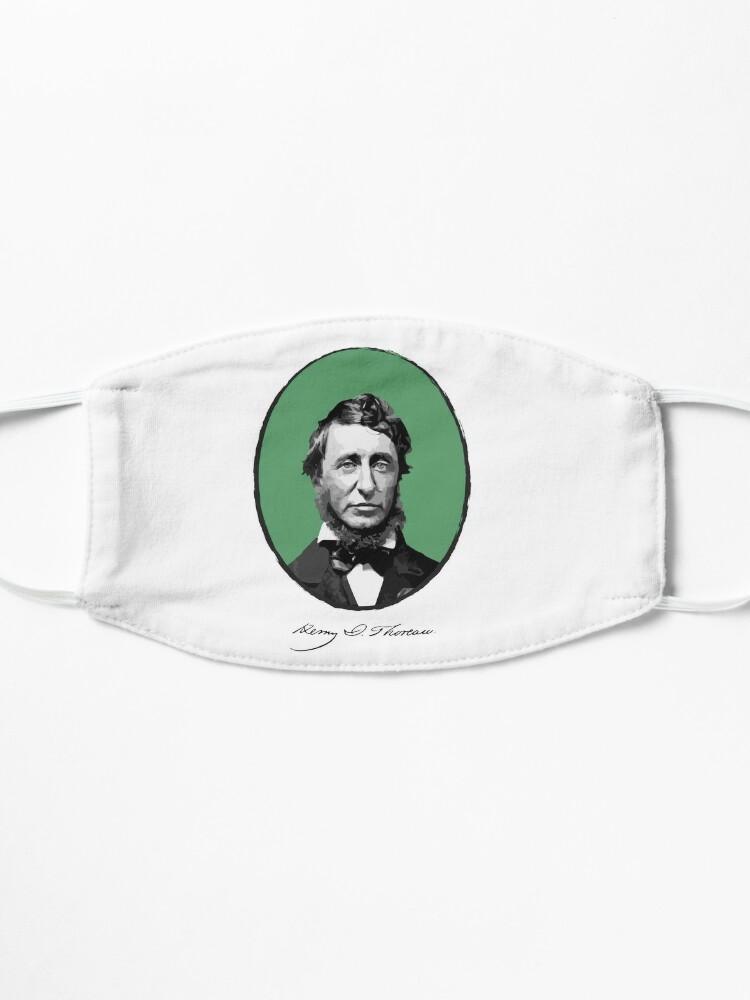 Alternate view of Henry David Thoreau Mask