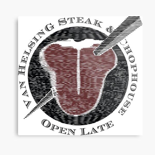 Van Helsing Steak & Chophouse Metal Print
