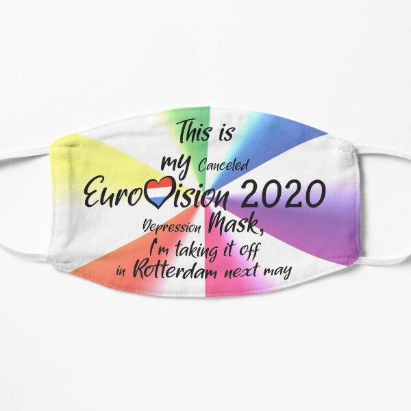 Eurovision 2020 - Eurovision song contest - ESC fans - Canceled Rotterdam Eurovision Depression  Mask