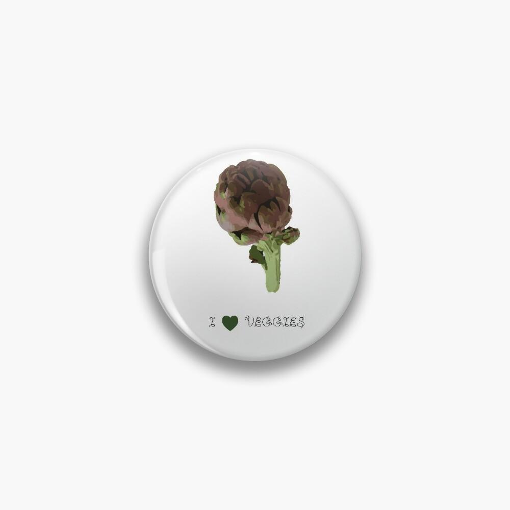 Artichoke - I love veggies Pin