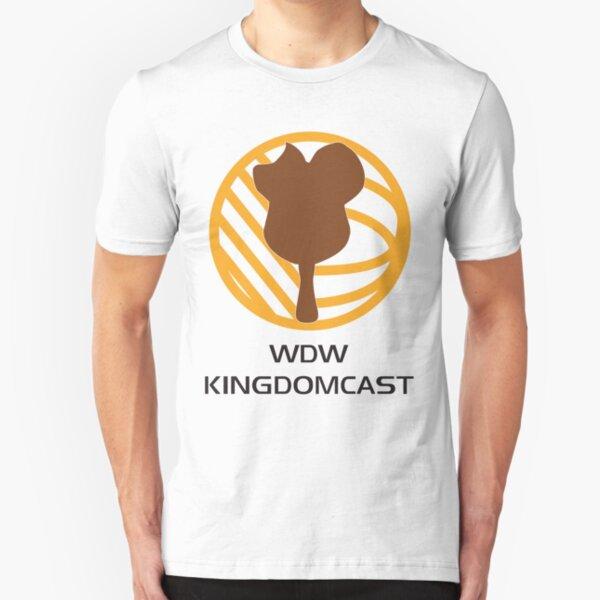 Kingdomcast Mickey Bar logo Slim Fit T-Shirt