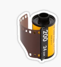 I love film, plain and simple! Sticker