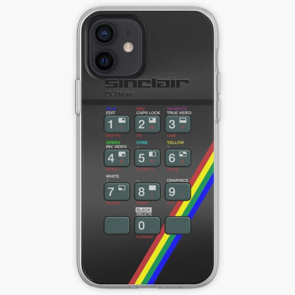 Retro Spectrum iPhone Case iPhone Soft Case