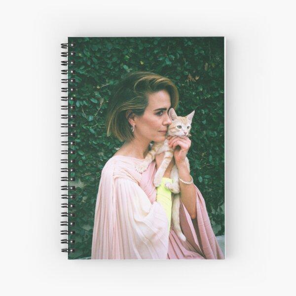 Sarah Paulson Spiral Notebook