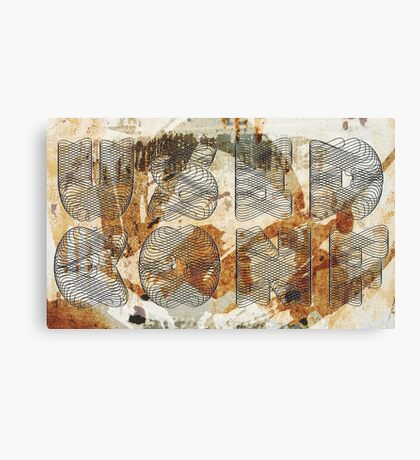 Confused Canvas Print