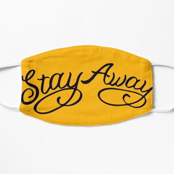 Stay Away, Post Malone (Yellow) Flat Mask