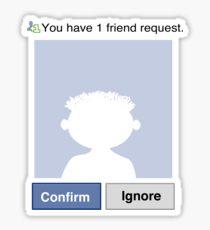 Friends? Ernie Sticker
