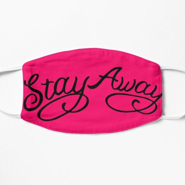 Stay Away, Post Malone (Pink) Flat Mask