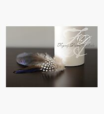 Feathers... Photographic Print