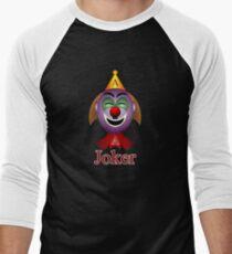 Joker Men's Baseball ¾ T-Shirt