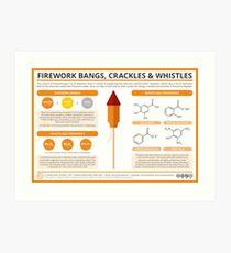 The Chemistry of Fireworks: Bangs, Crackles & Whistles Art Print