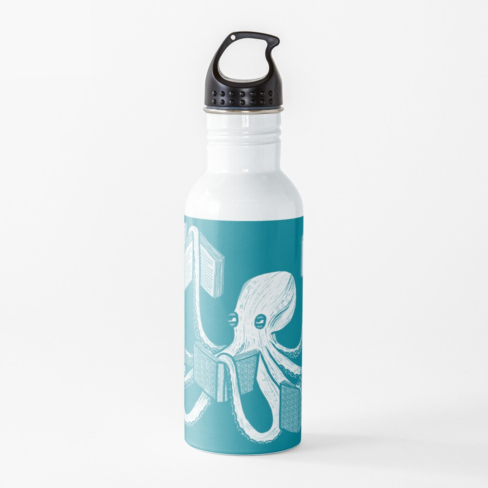 Armed With Knowledge Water Bottle