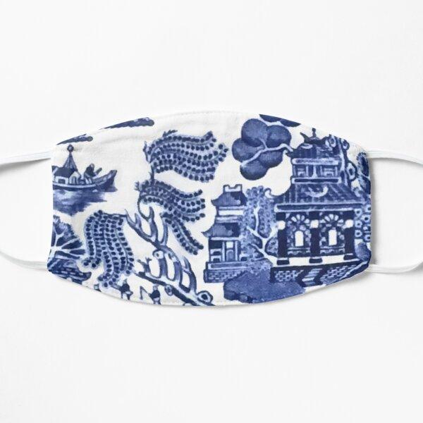 Blue Willow China Flat Mask