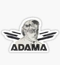 Adama Sticker