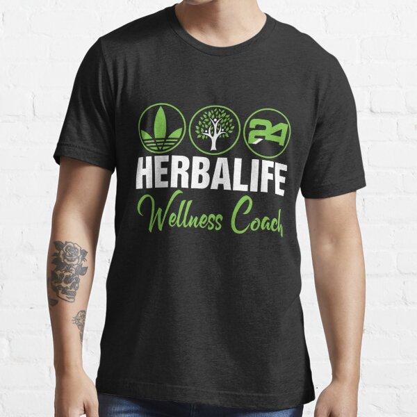 chemise de coach de bien-être herbalife, chemise unisexe T-shirt essentiel