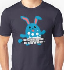 Twitch Plays Pokemon - Pokemon Emerald - Does This Look Like the Face of Mercy? Unisex T-Shirt