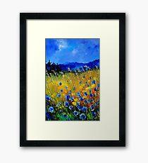 Cornflowers 45 Framed Print