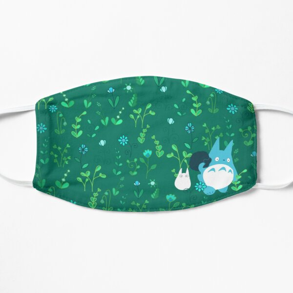 Totoro Floral Mask