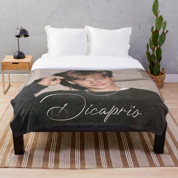 Leonardo Dicaprio Design  Throw Blanket