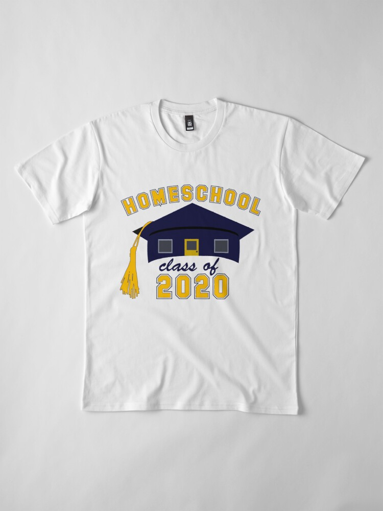 Alternate view of Homeschool Class of 2020 Premium T-Shirt