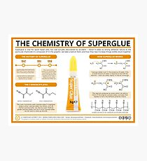 The Chemistry of Superglue Photographic Print