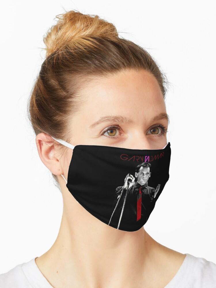 Gary Numan Mask By Ikonvisuals Redbubble