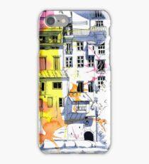 Maisons Suspendu, Pont-en-Royans, France iPhone Case/Skin