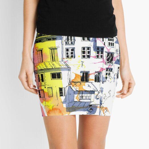 Maisons Suspendu, Pont-en-Royans, France Mini Skirt