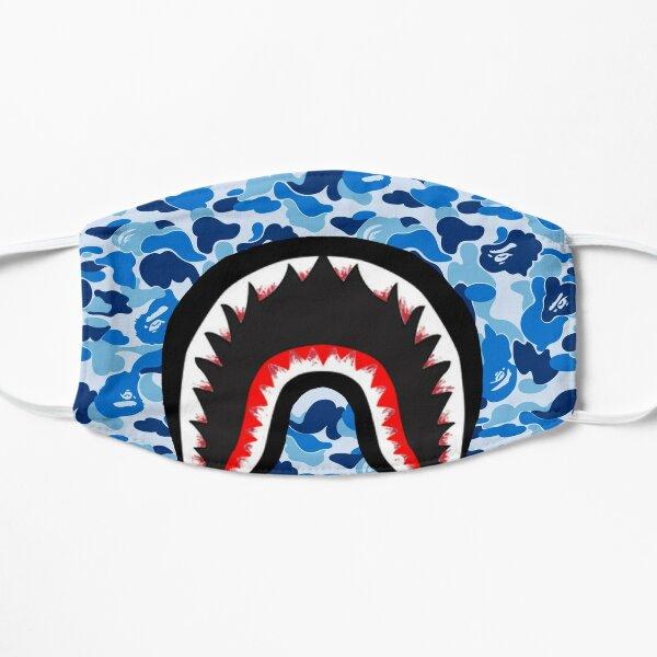 Masque bouche énervé camouflage Bape Masque sans plis
