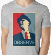 Observe Mens V-Neck T-Shirt
