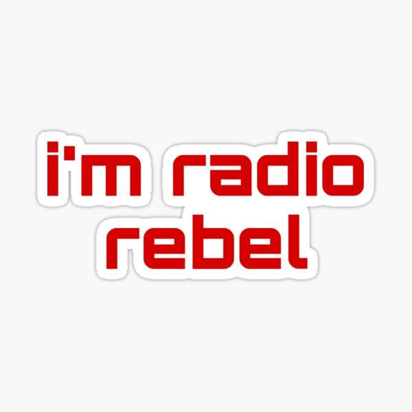 soy radio rebelde Pegatina