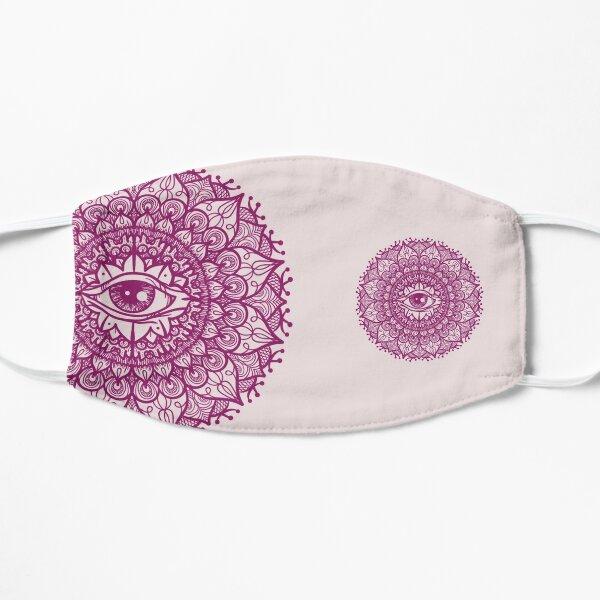 Mandala Seeing Eye Flower Mask dpnk/ppnk  Flat Mask