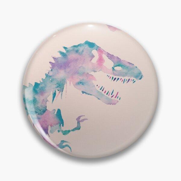 Cool Watercolors Jurassic  Pin